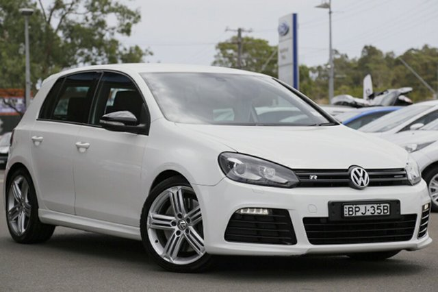 Discounted Used Volkswagen Golf R DSG 4MOTION, Narellan, 2010 Volkswagen Golf R DSG 4MOTION Hatchback