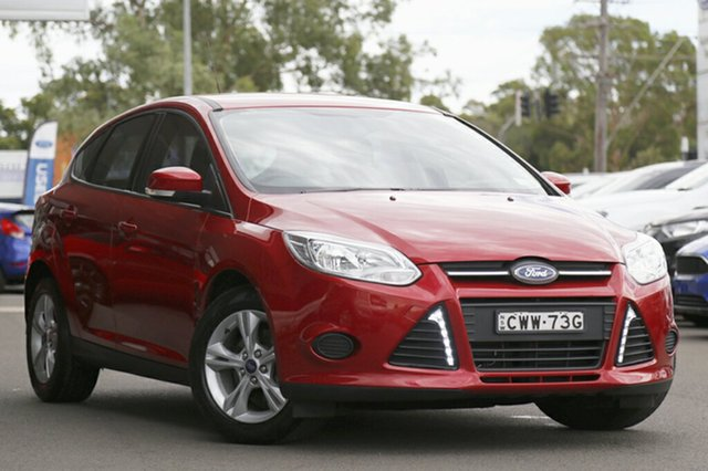 Used Ford Focus Ambiente PwrShift, Narellan, 2014 Ford Focus Ambiente PwrShift Hatchback