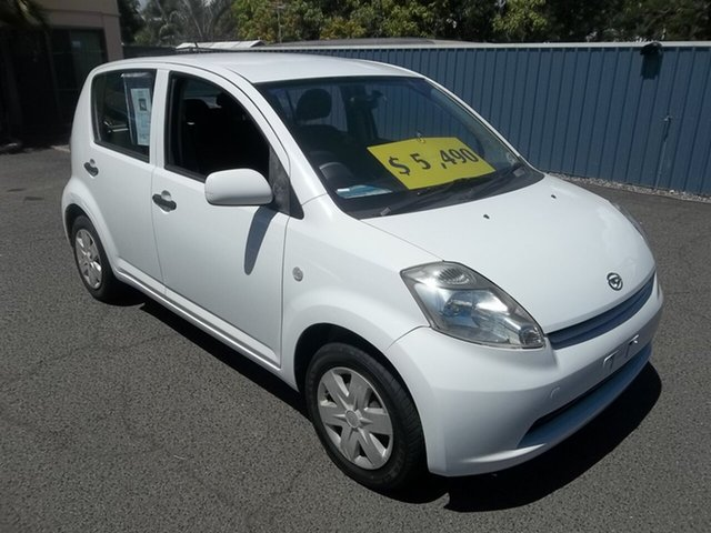 Used Daihatsu Sirion Sports, North Rockhampton, 2005 Daihatsu Sirion Sports Hatchback