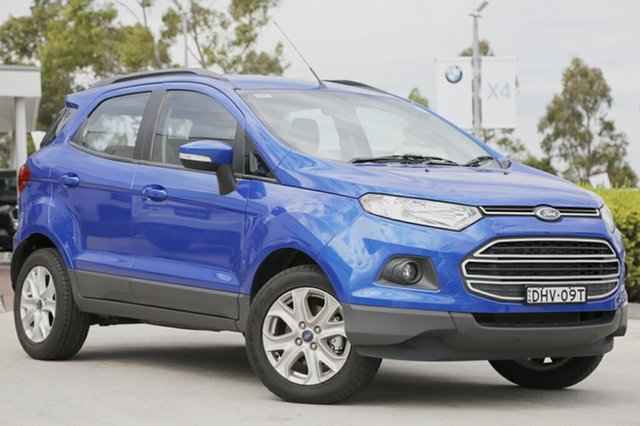 Discounted Demonstrator, Demo, Near New Ford Ecosport Trend PwrShift, Narellan, 2016 Ford Ecosport Trend PwrShift Wagon