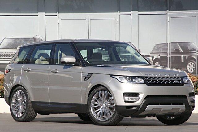 Demonstrator, Demo, Near New Land Rover Range Rover Sport SDV6 CommandShift HSE, Narellan, 2015 Land Rover Range Rover Sport SDV6 CommandShift HSE SUV