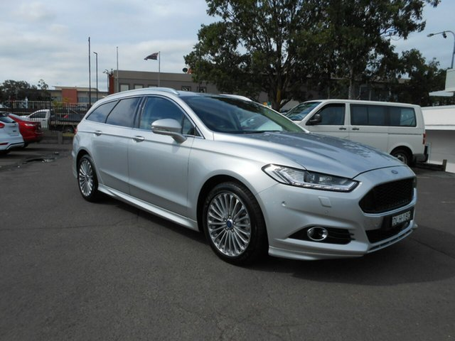 Used Ford Mondeo Titanium PwrShift, Nowra, 2015 Ford Mondeo Titanium PwrShift MD Wagon