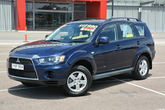 Used Mitsubishi Outlander ZH MY11 LS, 2011 Mitsubishi Outlander ZH MY11 LS Blue 6 Speed Constant Variable Wagon