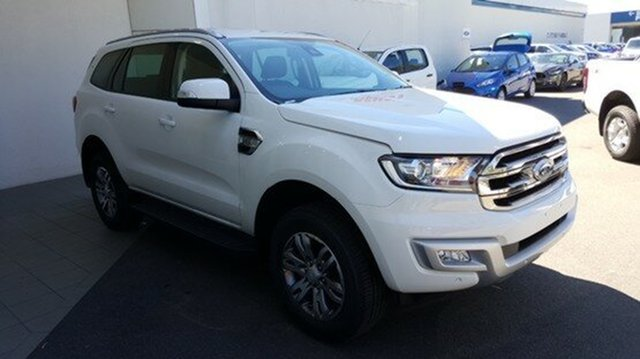 Demonstrator, Demo, Near New Ford Everest Trend 4x2, Cheltenham, 2016 Ford Everest Trend 4x2 Wagon