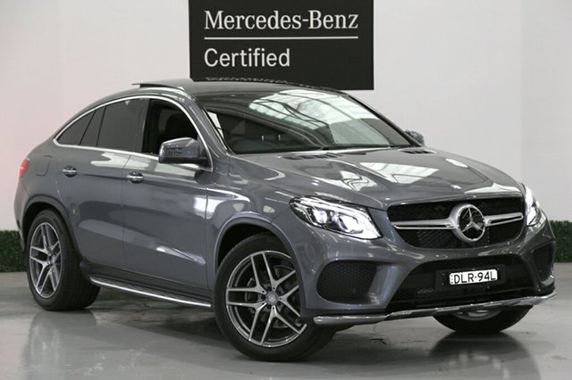 Used Mercedes-Benz GLE350 d Coupe 9G-Tronic 4MATIC, Narellan, 2016 Mercedes-Benz GLE350 d Coupe 9G-Tronic 4MATIC SUV