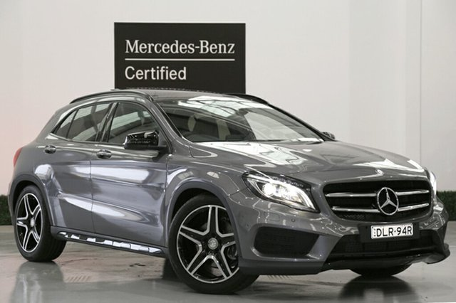 Used Mercedes-Benz GLA 250 4MATIC DCT 4MATIC, Narellan, 2016 Mercedes-Benz GLA 250 4MATIC DCT 4MATIC SUV