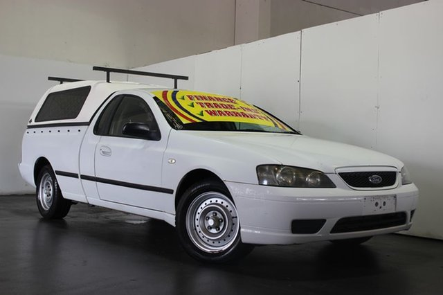 Used Ford Falcon XL (LPG), Underwood, 2005 Ford Falcon XL (LPG) Utility