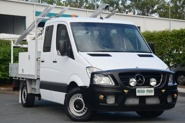 Discounted Used Mercedes-Benz Sprinter 316CDI MWB, Acacia Ridge, 2012 Mercedes-Benz Sprinter 316CDI MWB NCV3 MY12 Cab Chassis