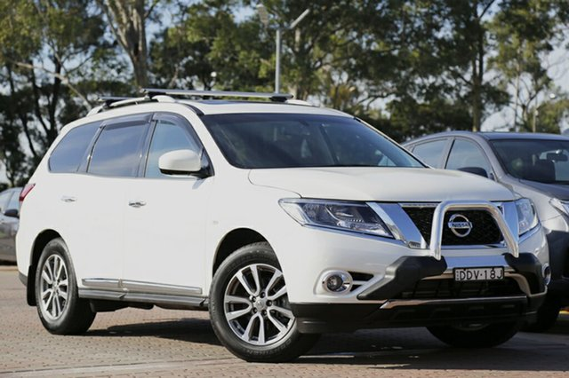 Used Nissan Pathfinder ST-L X-tronic 4WD, Warwick Farm, 2016 Nissan Pathfinder ST-L X-tronic 4WD SUV