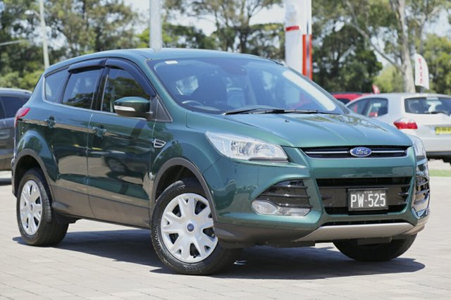 Discounted Demonstrator, Demo, Near New Ford Kuga Ambiente AWD, Warwick Farm, 2016 Ford Kuga Ambiente AWD SUV