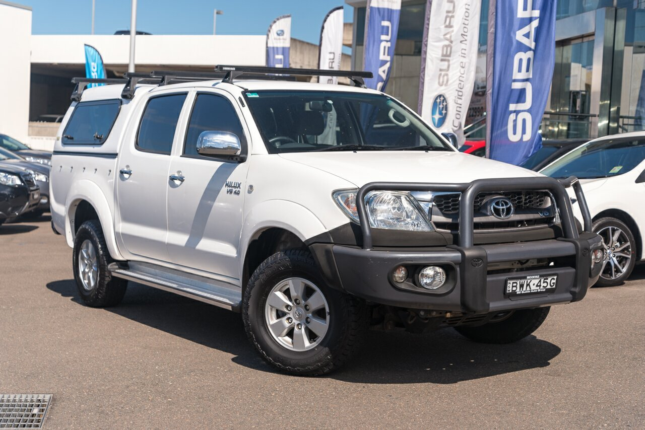 2011 Toyota Hilux GGN15R MY10