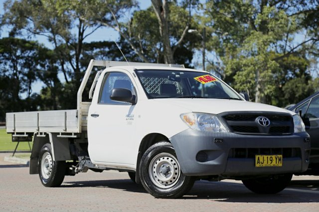Used Toyota Hilux Workmate, Warwick Farm, 2007 Toyota Hilux Workmate Cab Chassis