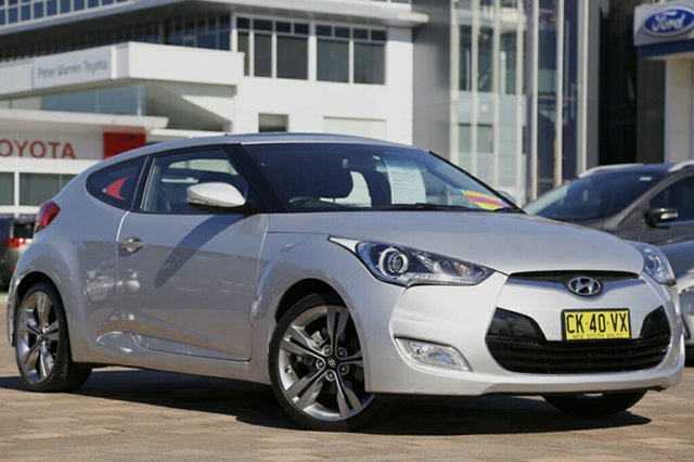 Used Hyundai Veloster + Coupe D-CT, Warwick Farm, 2011 Hyundai Veloster + Coupe D-CT Hatchback
