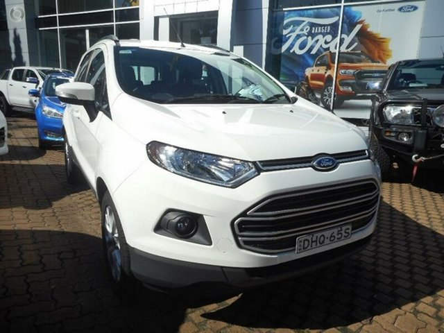 Demonstrator, Demo, Near New Ford Ecosport Trend PwrShift, Southport, 2016 Ford Ecosport Trend PwrShift Wagon