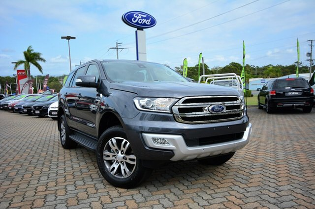 Discounted Demonstrator, Demo, Near New Ford Everest Trend 4x2, Southport, 2016 Ford Everest Trend 4x2 SUV