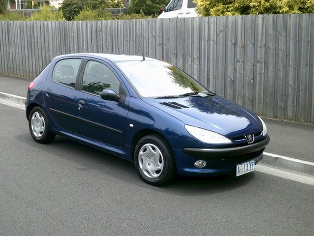Used Peugeot 206 XT, North Hobart, 2002 Peugeot 206 XT Hatchback