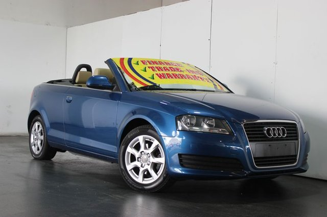 Used Audi A3 1.8 TFSI Attraction, Underwood, 2010 Audi A3 1.8 TFSI Attraction Cabriolet