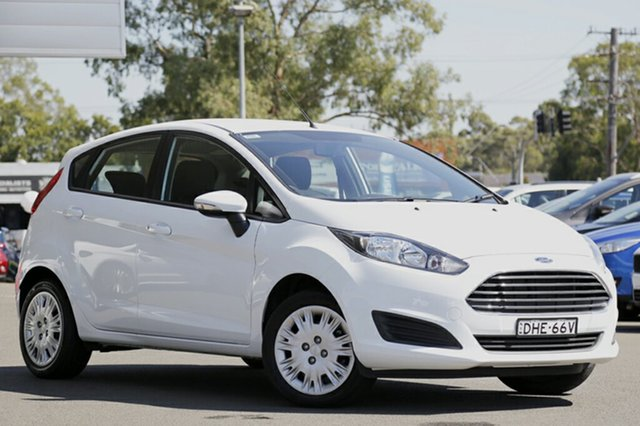Discounted Demonstrator, Demo, Near New Ford Fiesta Ambiente PwrShift, Narellan, 2016 Ford Fiesta Ambiente PwrShift Hatchback