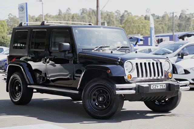 Discounted Used Jeep Wrangler Unlimited Sport, Narellan, 2007 Jeep Wrangler Unlimited Sport SUV