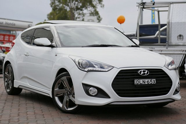 Used Hyundai Veloster SR Coupe D-CT Turbo, Southport, 2014 Hyundai Veloster SR Coupe D-CT Turbo Hatchback