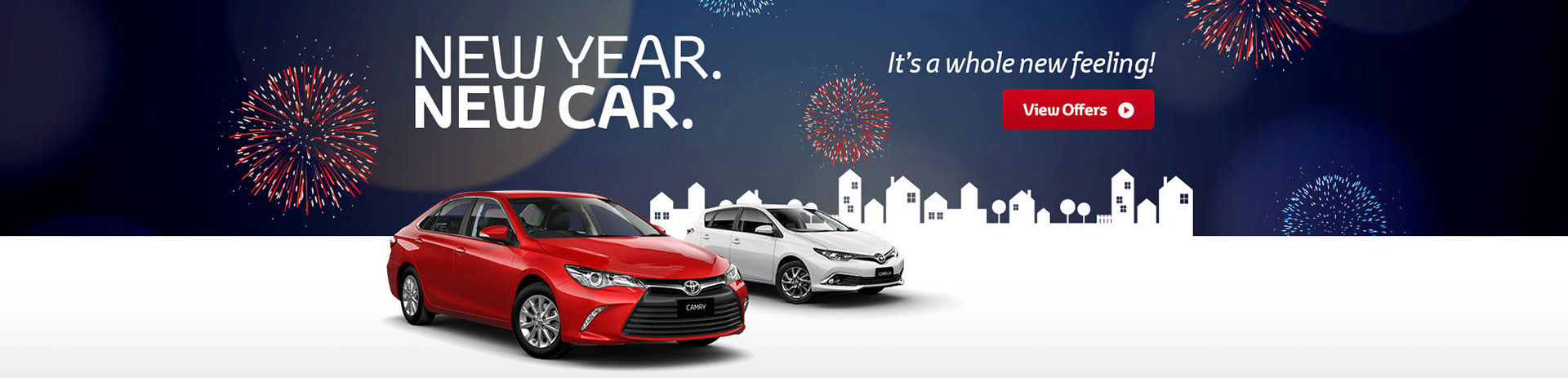 Toyota National Offer - New Year. New Car