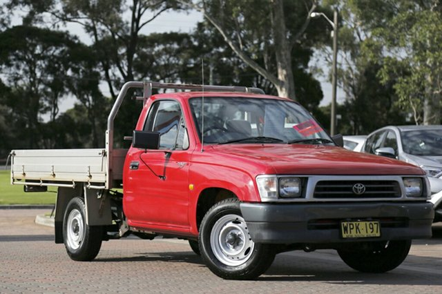 Used Toyota Hilux, Warwick Farm, 1999 Toyota Hilux Cab Chassis