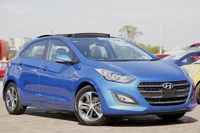 Discounted Demonstrator, Demo, Near New Hyundai i30 Active X (sunroof), Southport, 2016 Hyundai i30 Active X (sunroof) Hatchback
