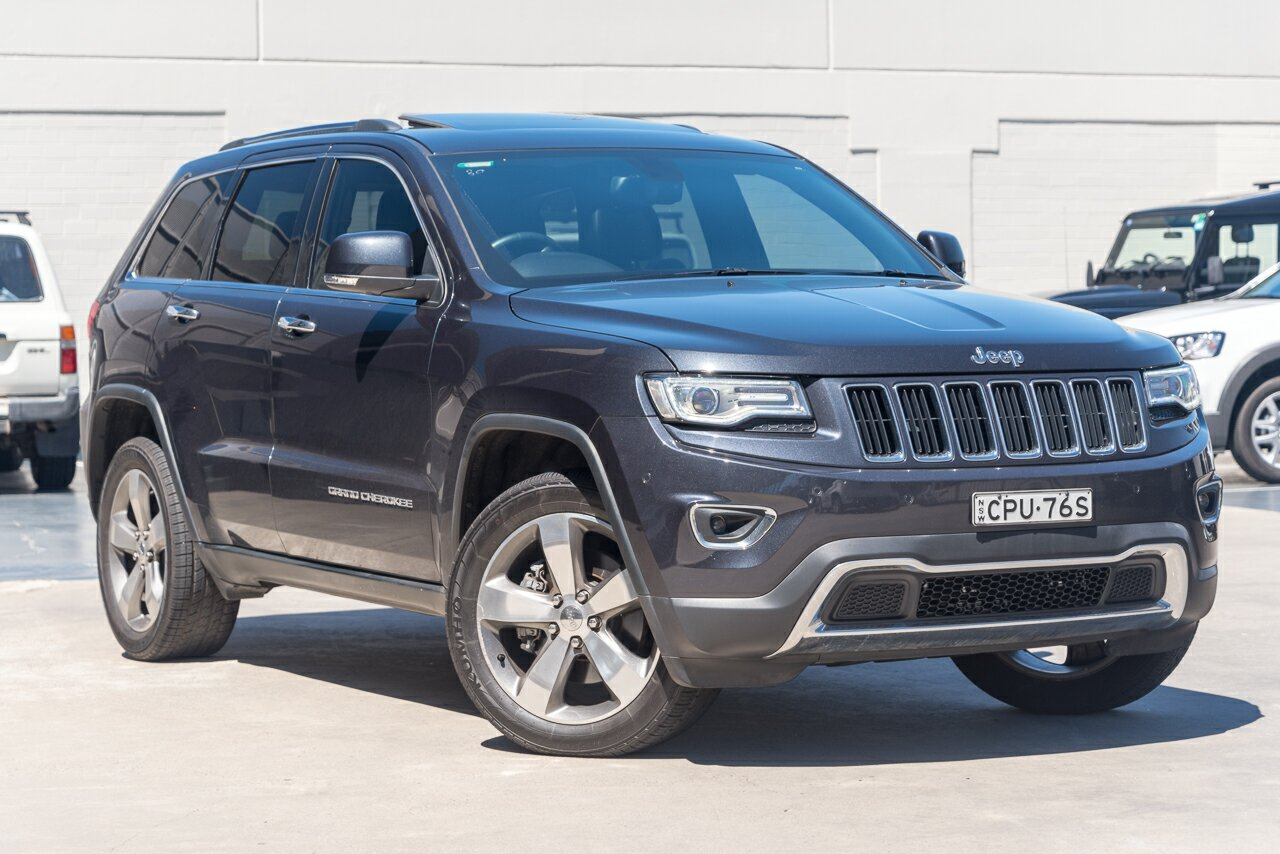 2013 Jeep Grand Cherokee Limited WK MY2014