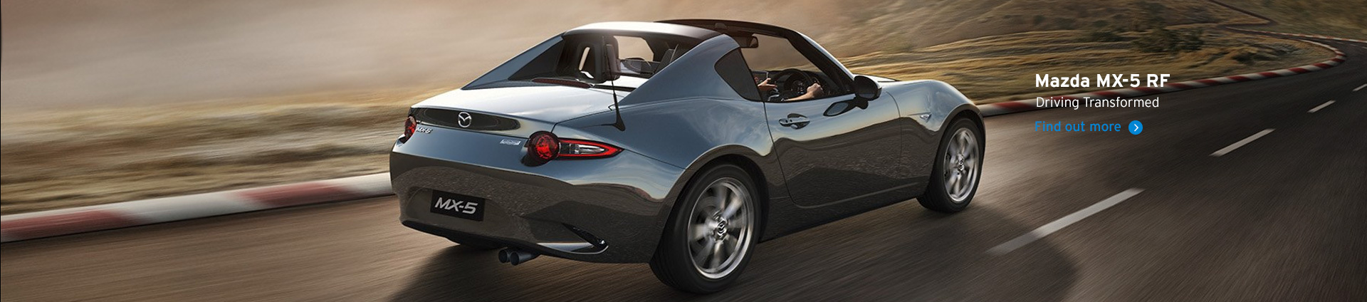 Mazda MX-5 RF - Driving Transformed