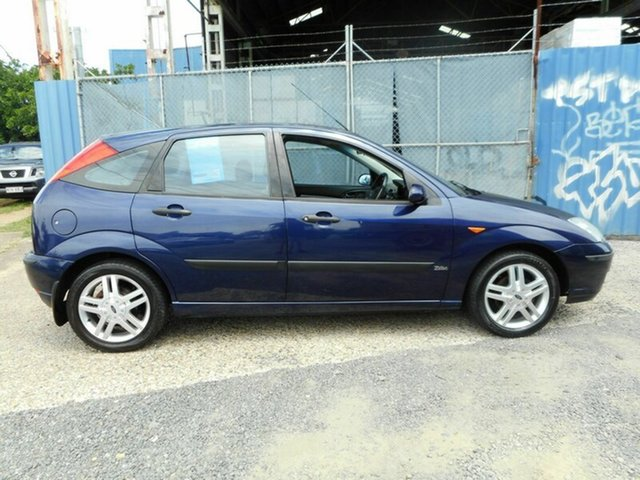 Used Ford Focus Zetec, Moorooka, 2002 Ford Focus Zetec LR MY2003 Hatchback