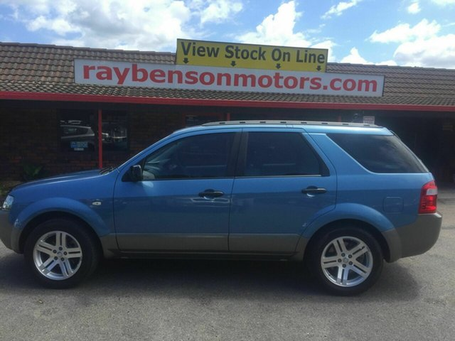 Used Ford Territory TX , 2005 Ford Territory TX Blue 4 Speed Automatic Wagon