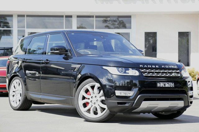 Demonstrator, Demo, Near New Land Rover Range Rover Sport SDV6 CommandShift HSE, Narellan, 2015 Land Rover Range Rover Sport SDV6 CommandShift HSE SUV