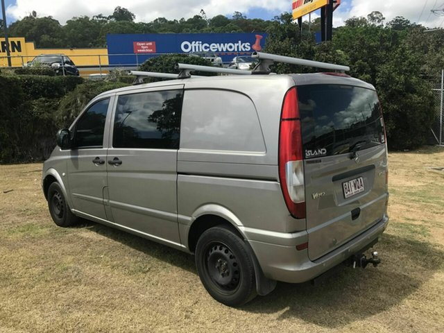Used Mercedes-Benz Vito 115CDI Crew Cab Low Roof Comp, Burleigh Heads, 2007 Mercedes-Benz Vito 115CDI Crew Cab Low Roof Comp 639 MY07 Van