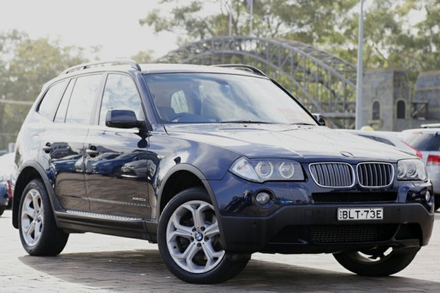 Used BMW X3 xDrive20d Steptronic Lifestyle, Warwick Farm, 2009 BMW X3 xDrive20d Steptronic Lifestyle SUV