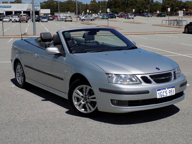 Used Saab 9-3 Linear TiD, Maddington, 2008 Saab 9-3 Linear TiD Convertible