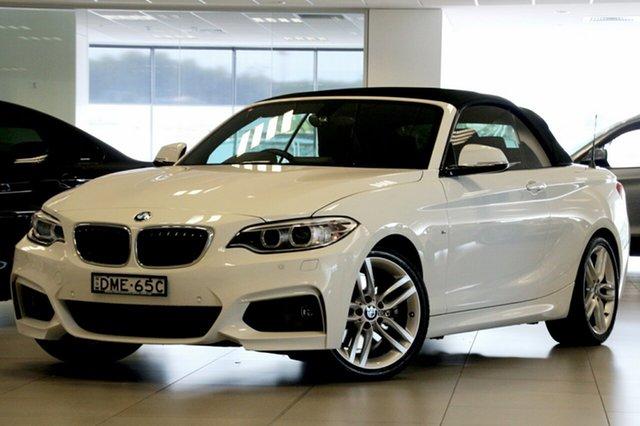 Used BMW 2 28I M-Sport, Brookvale, 2015 BMW 2 28I M-Sport Convertible