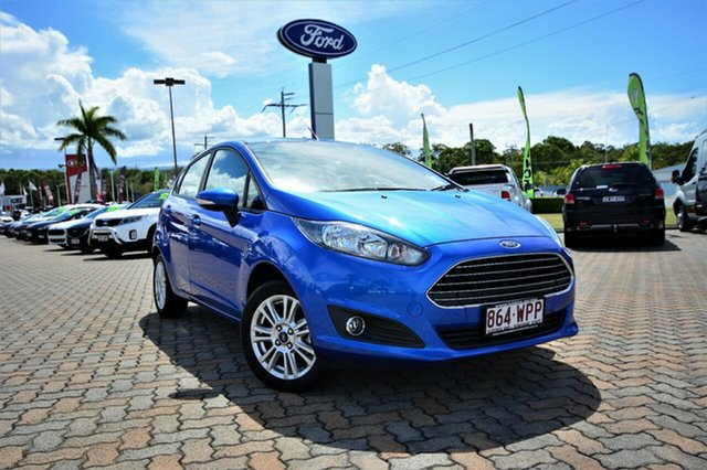 Discounted Demonstrator, Demo, Near New Ford Fiesta Trend PwrShift, Southport, 2016 Ford Fiesta Trend PwrShift Hatchback
