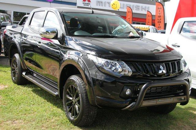 Demonstrator, Demo, Near New Mitsubishi Triton GLS Double Cab Sports Edition, Bowen Hills, 2017 Mitsubishi Triton GLS Double Cab Sports Edition Utility