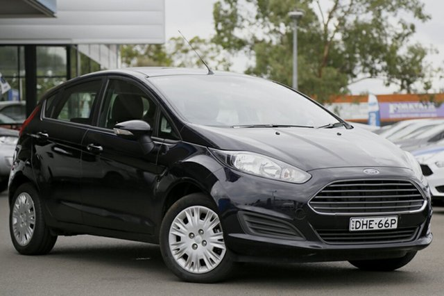 Used Ford Fiesta Ambiente PwrShift, Narellan, 2016 Ford Fiesta Ambiente PwrShift Hatchback
