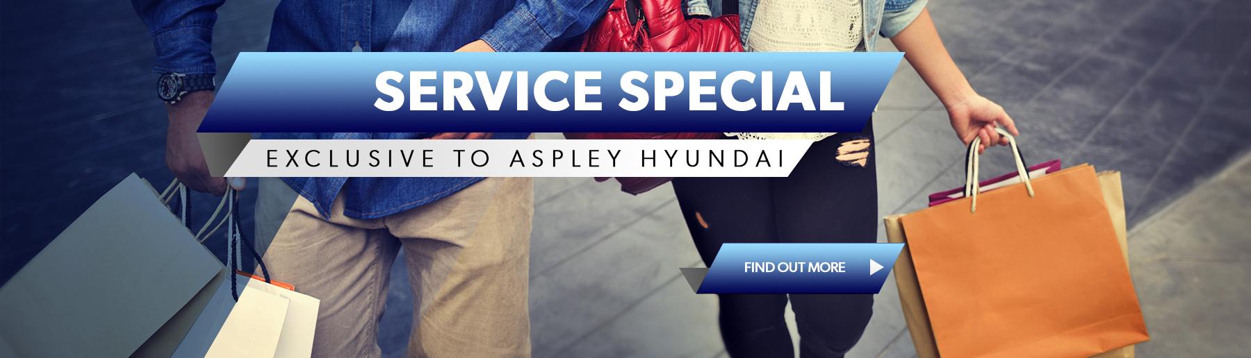 Brisbane Hyundai Service Special Gift Card