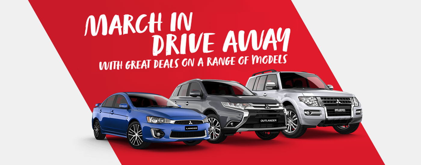 Mitsubishi - National Offer - March In Drive Away