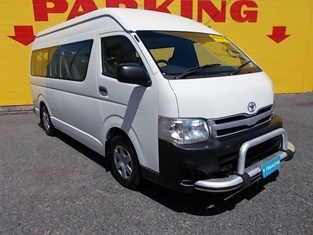 Used Toyota Hiace Commuter High Roof Super LWB, Winnellie, 2010 Toyota Hiace Commuter High Roof Super LWB Bus