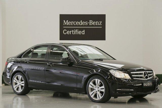 Used Mercedes-Benz C200 7G-Tronic +, Narellan, 2013 Mercedes-Benz C200 7G-Tronic + Sedan