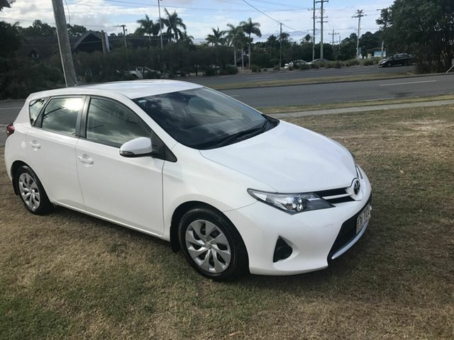 Used Toyota Corolla Ascent, Burleigh Heads, 2013 Toyota Corolla Ascent ZRE182R Hatchback
