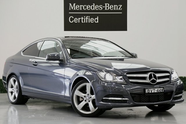 Used Mercedes-Benz C250 BlueEFFICIENCY 7G-Tronic +, Southport, 2011 Mercedes-Benz C250 BlueEFFICIENCY 7G-Tronic + Coupe