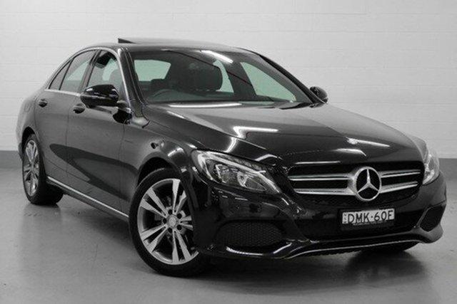 Demonstrator, Demo, Near New Mercedes-Benz C200 d 7G-Tronic +, Chatswood, 2016 Mercedes-Benz C200 d 7G-Tronic + Sedan