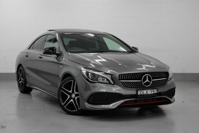 Demonstrator, Demo, Near New Mercedes-Benz CLA250 Sport DCT 4MATIC, Chatswood, 2016 Mercedes-Benz CLA250 Sport DCT 4MATIC Coupe