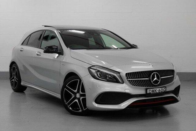 Demonstrator, Demo, Near New Mercedes-Benz A250 Sport D-CT 4MATIC, Chatswood, 2016 Mercedes-Benz A250 Sport D-CT 4MATIC Hatchback