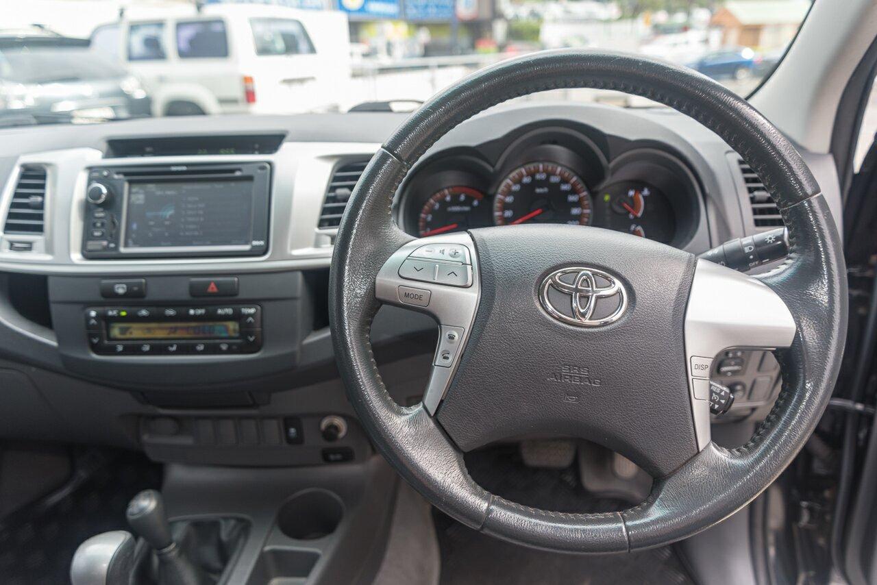 2013 Toyota Hilux SR5 Double Cab KUN26R MY12