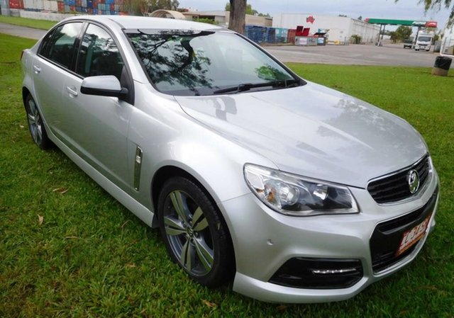 Used Holden Commodore VF MY14 SV6, 2014 Holden Commodore VF MY14 SV6 Silver 6 Speed Sports Automatic Sedan